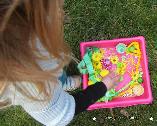 Our Spring Sensory Play