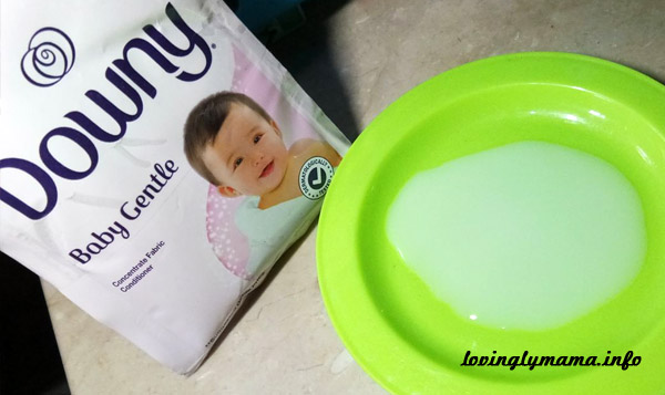 Downy Baby Gentle - fabric conditioner
