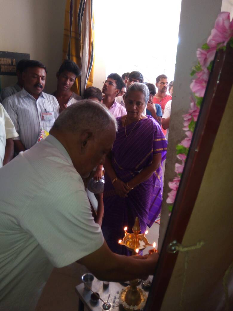 D Exhibition In Chennai : Exhibition inaugurated at rss camp namakkal vishwa