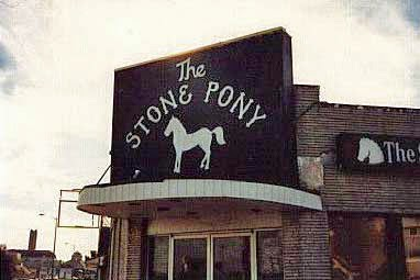 The Stone Pony at the start 1974