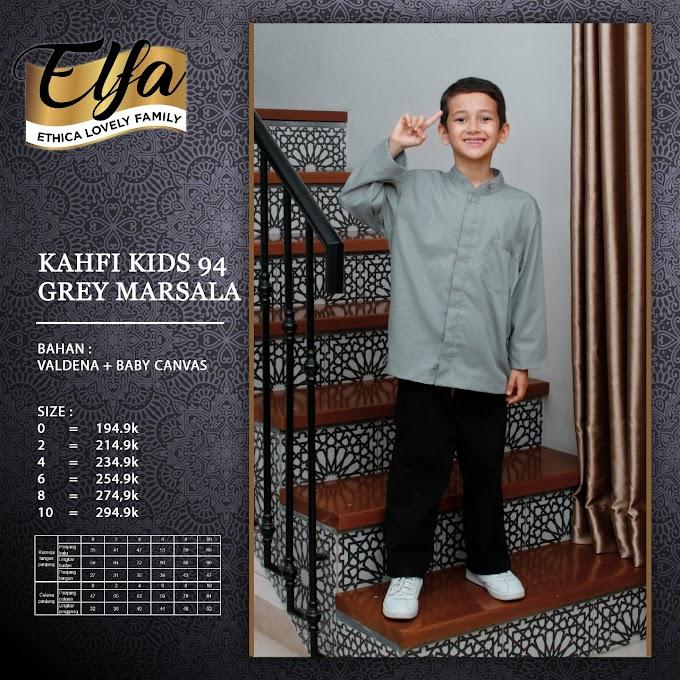 Kahfi Kiss 94 Grey Marsala