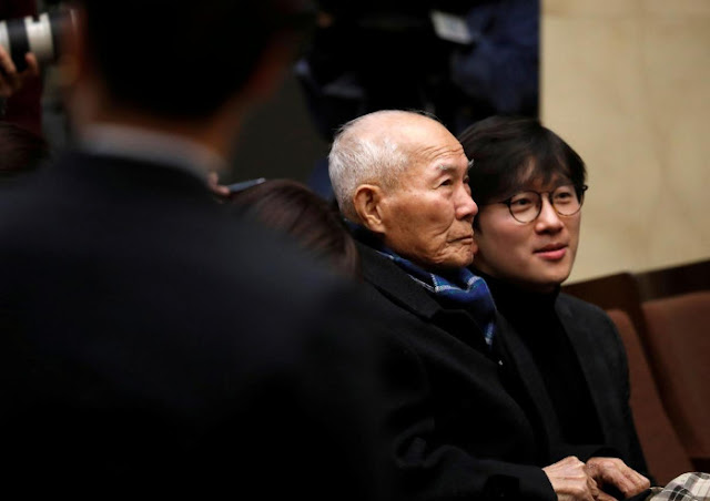 Lee Choon-shik lone surviving World War II forced worker as court orders Japan firms to pay $350 million compensation