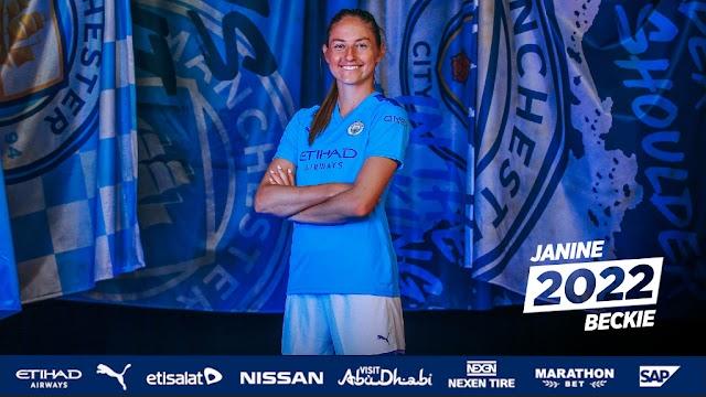 Η Janine Beckie μέχρι το 2022 στην Manchester City