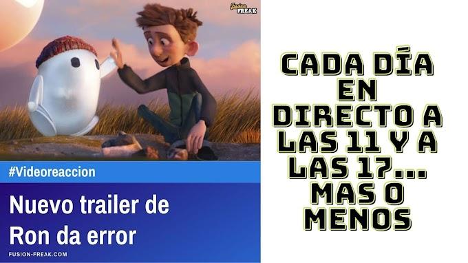 Videoreaccionamos al trailer de Ron da Error la nueva cinta de animación de Sony