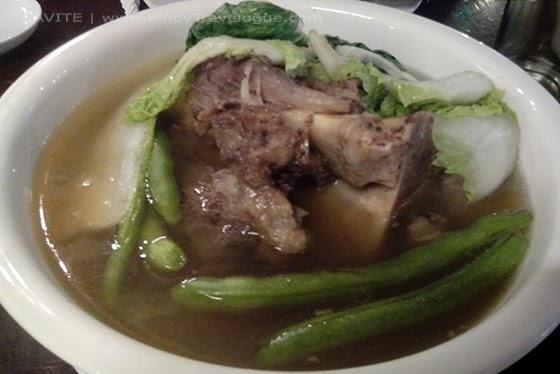 A bowl of Tagaytay's bulalo