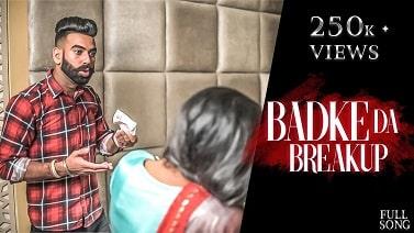 Badke da Breakup mp3 Song download - Rishi Sharma  ~ Gaana Himachali