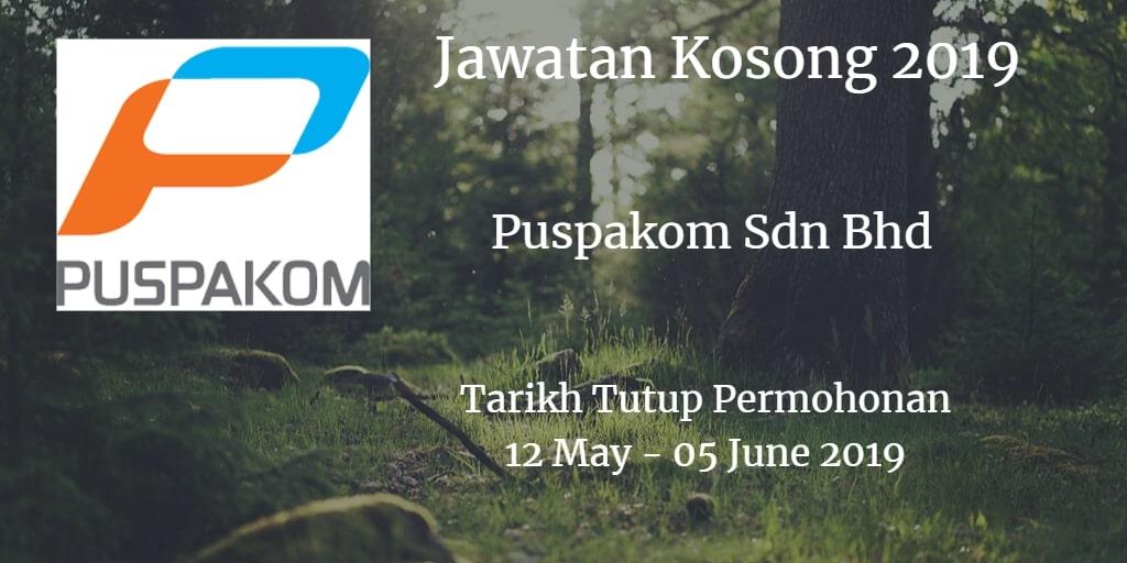 Jawatan Kosong Puspakom Sdn Bhd 12 May - 05 June 2019