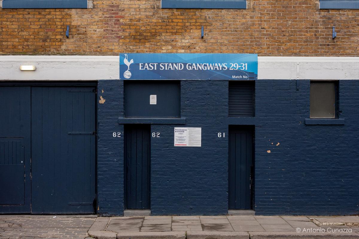 White Hart Lane Londra foto © Antonio Cunazza 2016
