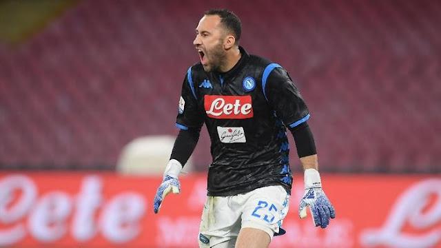 Napoli Permanenkan David Ospina ~ Indozuma.com