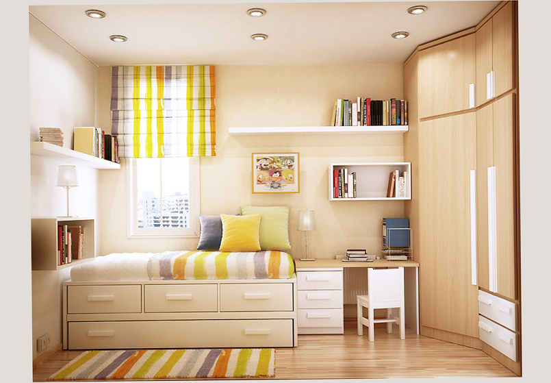 Young adult bedroom ideas latest design for 2016 ellecrafts for Dormitorio 3x3