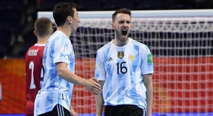 Mundial de Futsal: Argentina superó a Rusia y pasó a la semifinal