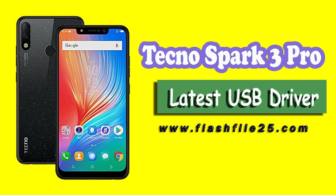 Download Latest Tecno Spark 3 Pro USB Drivers   MTK VCOM USB Driver