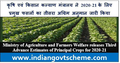 Third Advance Estimates of Principal Crops