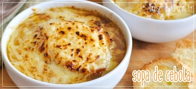 receita de sopa de cebola