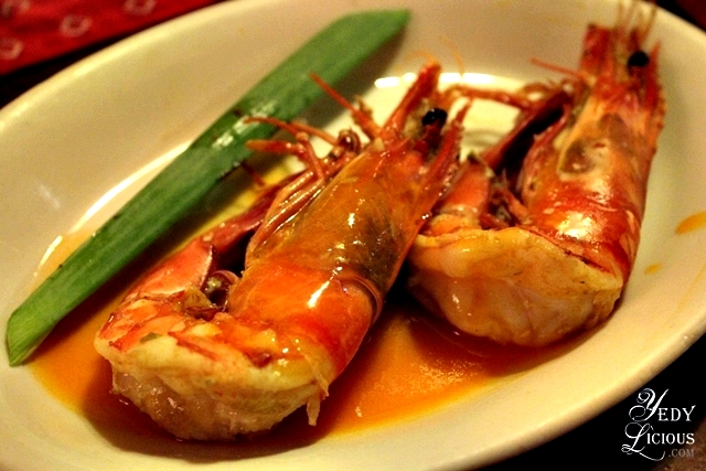 Prawns at Kalui Restaurant Best Restaurants in Puerto Princesa Palawan Philippines YedyLicious Manila Food and Travel Blog