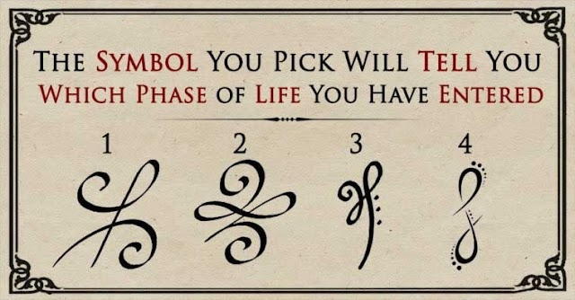 Choose A Symbol To Reveal Which Phase of Life You Have Entered