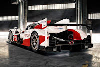 Toyota TS050 Hybrid LMP1 2016 Rear Side