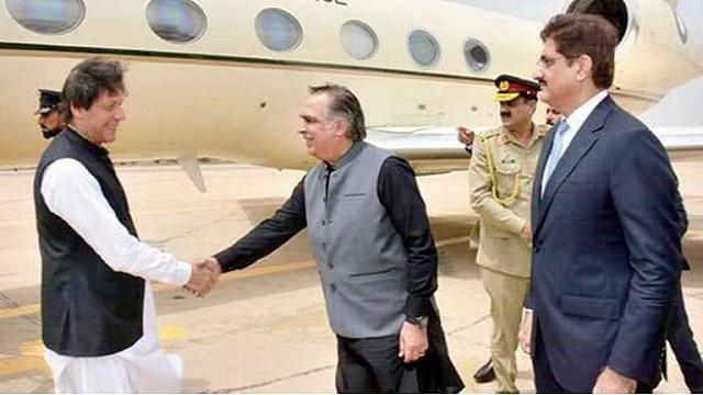 Prime Minister Imran Khan visits Karachi