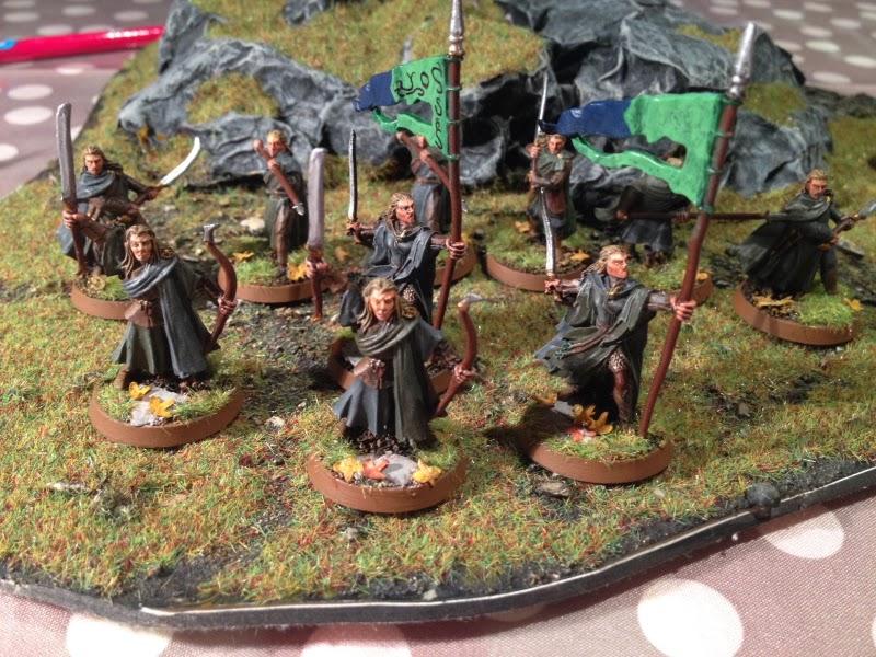 East Grinstead Wargaming Sussex Hobbit Sbg Wood Elves Army