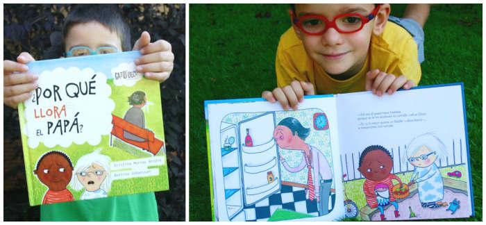 cuentos infantiles por qué llora papá para hacer pensar, reflexionar, sentido ética moral niños