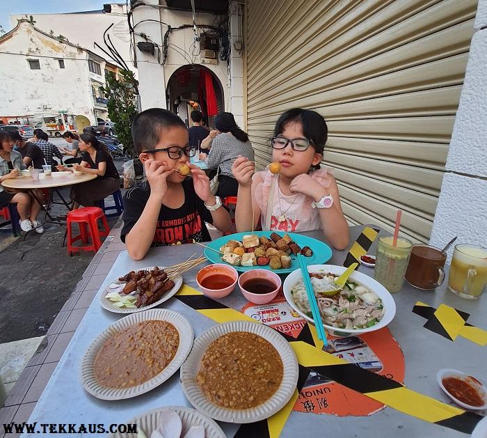 Chulia Street Night Hawker Stalls Lor Bak
