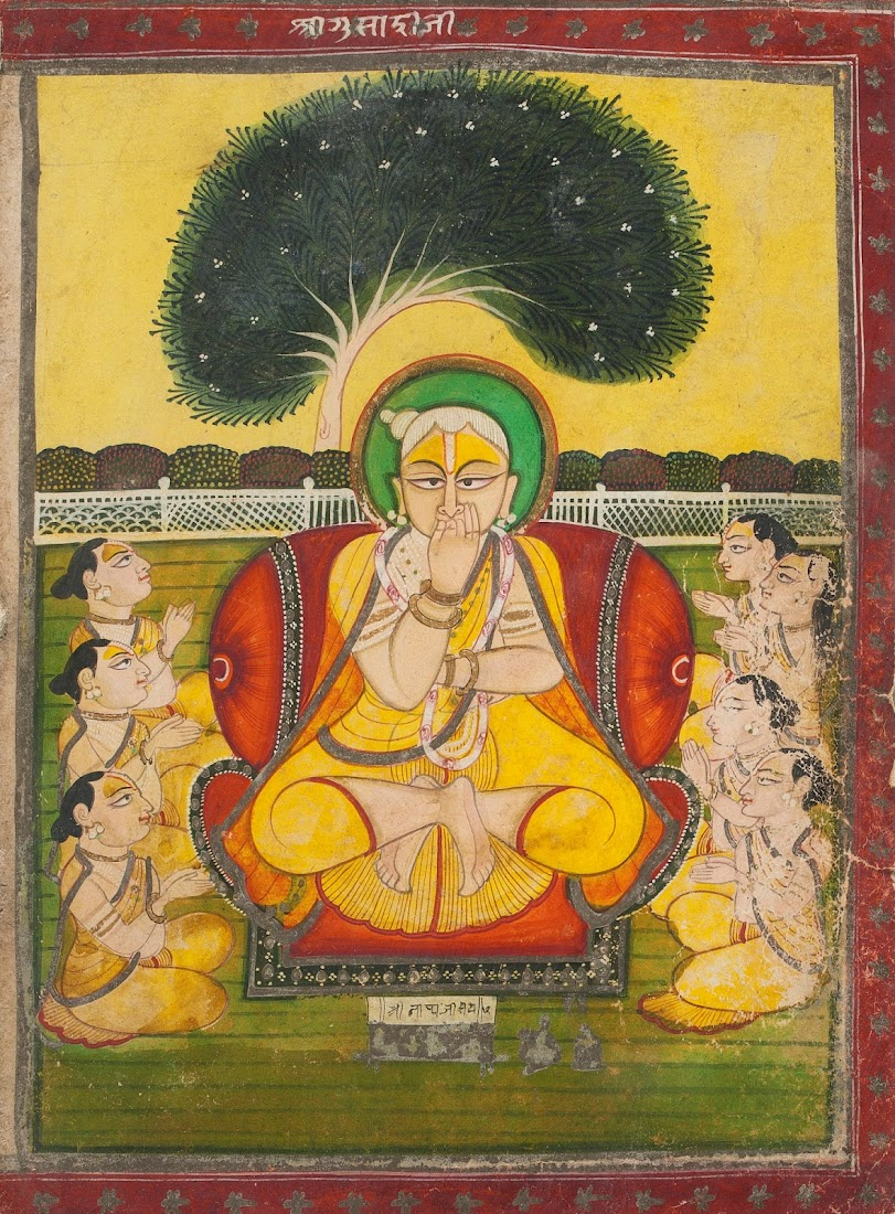 Pushti Marg Teacher - Nathwara Painting