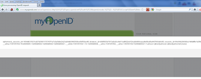 myOpenID XSS : One of the Largest OpenID provider is Vulnerable