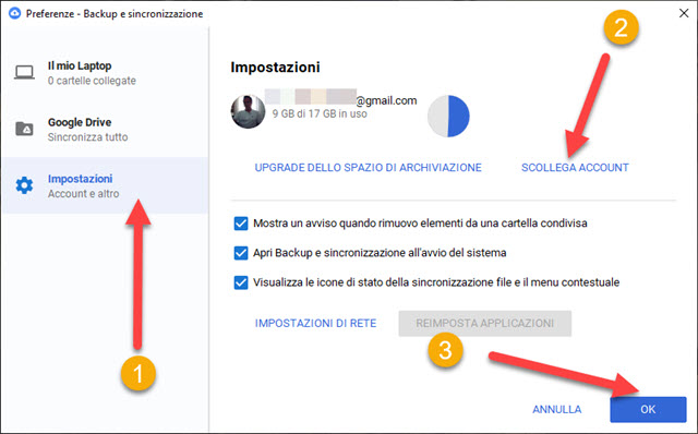 scollegare-account-google-drive