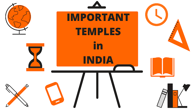 List of Important Temples in India | Static GK | PDF File