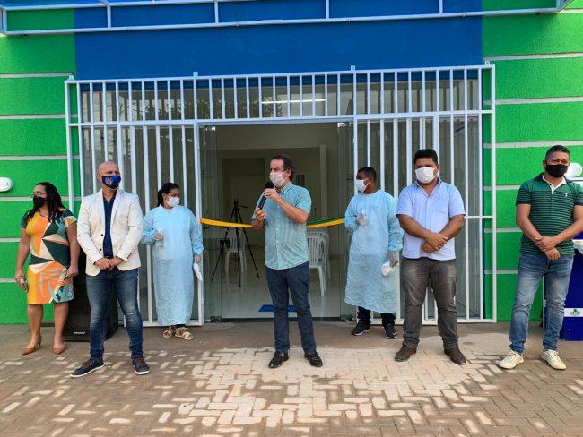 Marcello Maranhão inaugura nova Unidade Básica de Saúde em Ribeirão