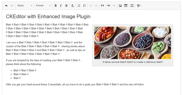 drupal-CKEditor-enhanced-image-plugin
