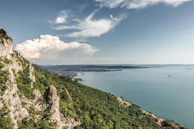 MTB Triest Enduro Start in Prosecco über Monte Grisa - Monte Belvedere - San Lorenzo sowie Bottazzo