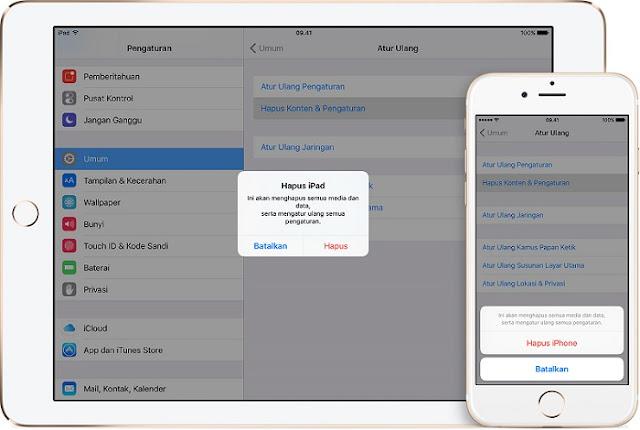 Cara Yang Benar Menghapus Akun iCloud di iPhone, iPad dan iPod