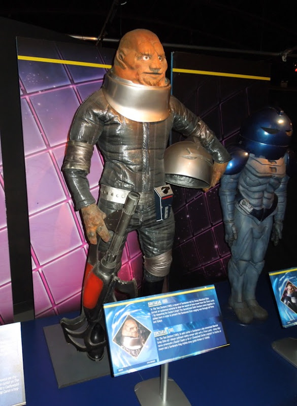 Sontaran Group Marshal Stike costume Doctor Who 1985
