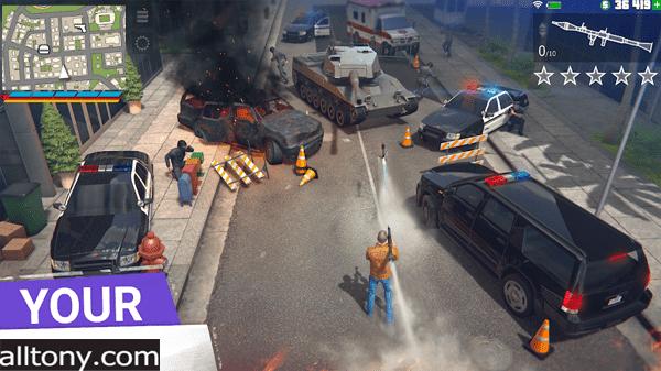 تحميل لعبة Grand Criminal Online عالم مفتوح شبيهة Grand Theft Auto V