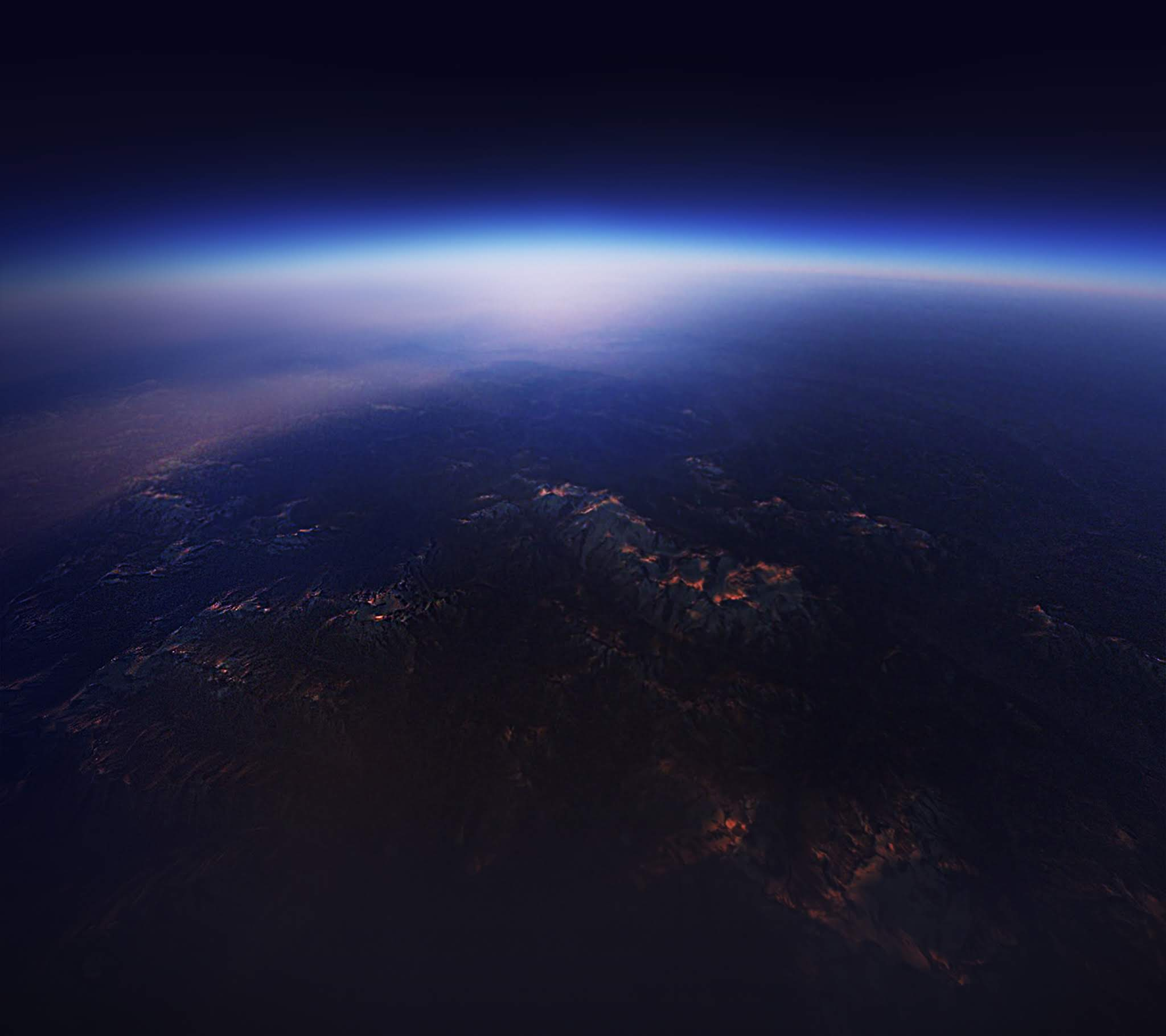 Android O, Stock, Horizon, Planet, HD, Space