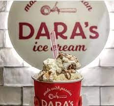 أسعار منيو ورقم وعنوان فروع داراز ايس كريم Dara's Ice Cream