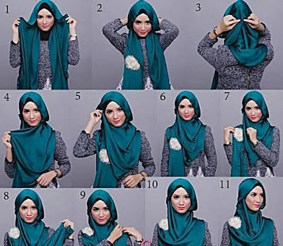 Trendy Hijab Tutorial