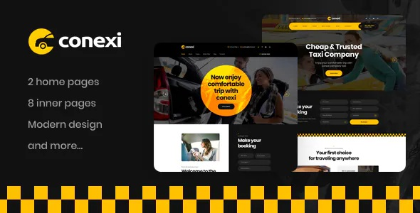 Best Taxi Booking Service WordPress Theme