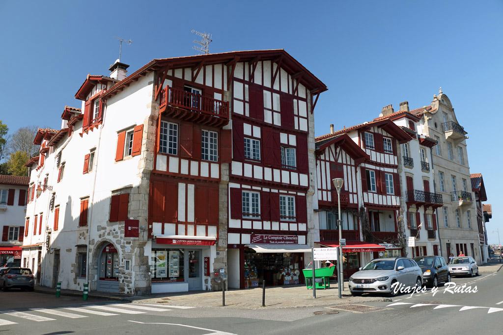 Casa de Ravel, Cibourne, San Juan de Luz