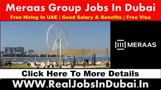 Meraas Group Hiring Staff In Dubai - UAE