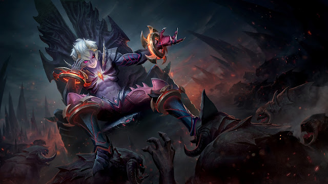 Dyrroth Prince of the Abyss Heroes Fighter of Skins ML HD Wallpapers