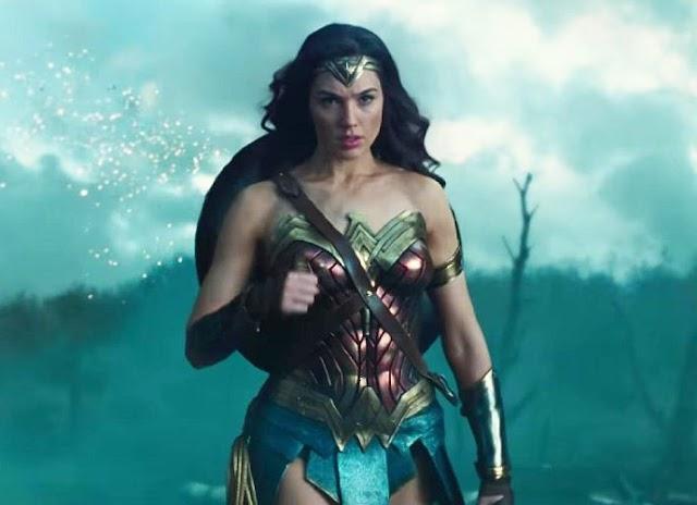 'Wonder Woman' Unleashes New Explosive Photo
