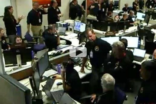 Video Misi Kontrol : 'MAVEN Is Now In Mars Orbit'