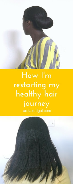 My current regimen is working for my hair relaxed hair, so I'm switching it up. See what products I'm considering and my revised regimen. | arelaxedgal.com