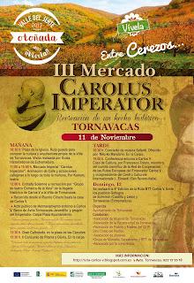 III Mercado Carolus Imperator (11 de noviembre 2017, Tornavacas)