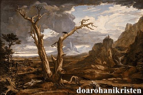 Apa Yang Membuat Nabi Elia Mempunyai Keberanian?