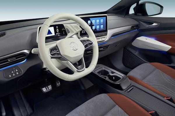 Carros elétricos da família ID da VW terão atualizações online