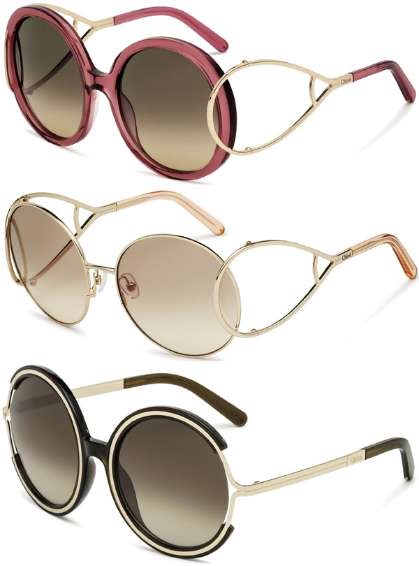 053335de8a553 Brilhos da Moda  Óculos de Sol Chloé