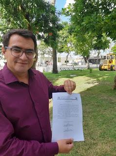 Prefeito de Picuí anuncia pavimentação de várias ruas no bairro Cenecista